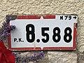Panonceau PK 8,588 Route N79 Route Mâcon St Cyr Menthon 2.jpg