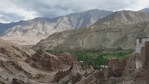 File:Panorama from Basgo monastery, Ladakh.webm
