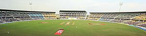 Panoramic view of VCA stadium,nagpur