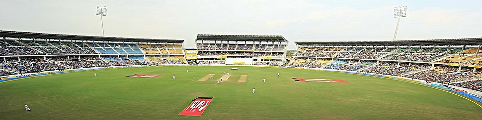 Panoramic view of VCA stadium, Nagpur