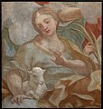 Paolo Gerolamo Piola, Sant'Agnese, 1709.jpg