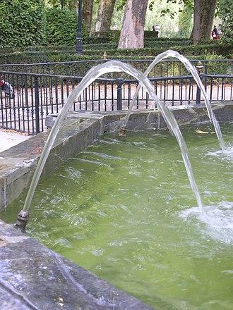 Parabola - Image: Parabolic Water Trajectory