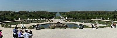 Parc de Versailles, parterre de Latone, vue générale