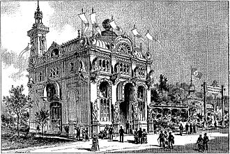 Exposition Universelle (1889) - Pavilion of the Empire of Brazil (L'Univers illustré, nº 1.786, 15/06/1889)