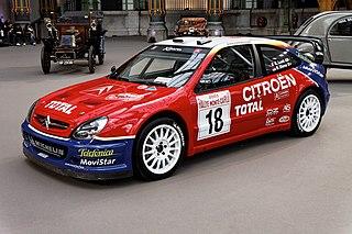 Citroën Xsara WRC Citroën World Rally Car