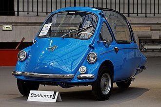 Heinkel Kabine - Image: Paris Bonhams 2013 Heinkel kabine micro car 1957 006