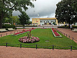 Park opposite the railway station Turku.jpg