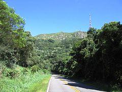 Estrada Turística do Jaraguá-  Parque Estadual do Jaraguá.