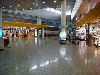 Kuwait International Airport - Departures area