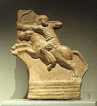 Parthia - Parthian horseman now on display at the Palazzo Madama, Turin.