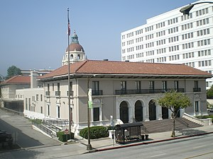 Pasadena Civic Center District - Image: Pasadena Post Office