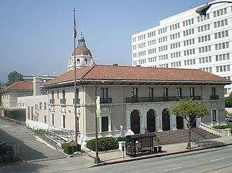 Pasadena Civic Center District - Image: Pasadena Post Office