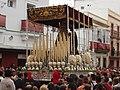 Paso de palio de El Nazareno regresando a su templo, El Puerto.JPG