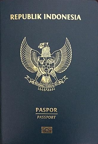 Indonesian passport - Indonesian biometric diplomatic passport.