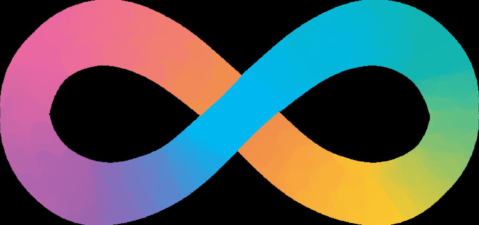 All credits to MissLunaRose 12: https://commons.wikimedia.org/wiki/File:Pastel_Neurodiversity_Symbol.png#filelinks