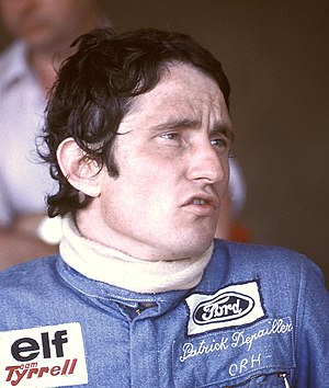 Patrick Depailler - Depailler at Dijon in 1975