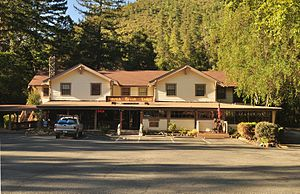 Gasquet, California - Patrick Creek Lodge, Gasquet, California