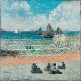 PaulGauguin-1885-Coast at Dieppe.jpg