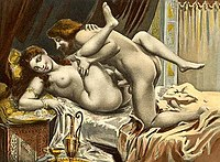 1892 illustration of sexual intercourse