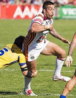 Paul Vaughan (rugby league) Australia & Italy international rugby league footballer