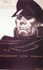 Paul Wegener als Student von Prag, Filmplakat 1913.jpg