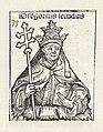 Paus Gregorius II Gregorius secundus (titel op object) Liber Chronicarum (serietitel), RP-P-2016-49-62-9.jpg