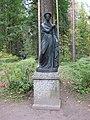 "Pavlovsk Park. Twelve tracks. Statue ""Polyhymnia."".JPG"