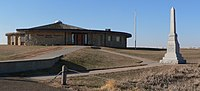 Pawnee Indian Museum (Republic, Kansas) from SE 2.JPG