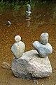 Pebble Sculpture in Hebden Water (5994632646).jpg