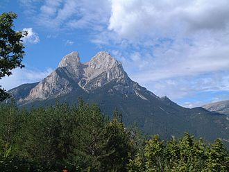 Pedraforca - The name of Pedraforca alludes to its forked shape