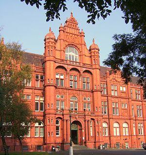 Peel Building - Image: Peel Building University of Salford
