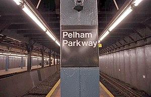 Pelham Parkway (IRT Dyre Avenue Line) - Platform