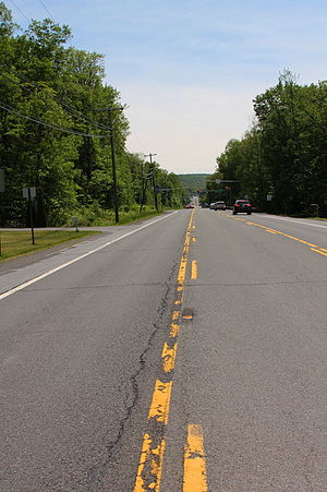 Wright Township, Luzerne County, Pennsylvania - PA 309 south in Wright Township