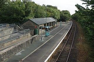 Penychain railway station
