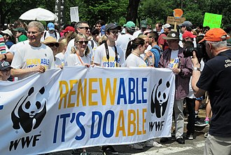 World Wide Fund for Nature - People's Climate March 2017