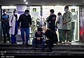 People gathering outside the Jam Hospital following the death of Mohammad-Reza Shajarian 2020-10-08 10.jpg