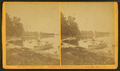 People in row boats near Sturgis' shore, by J. Bullock.png