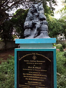 Perambur-Heritage-Walk-Railway-Scouts-and-Guides-Golden-Jubilee-Monument