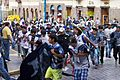 Peru - Cusco 175 - football fans parade (8149499296).jpg