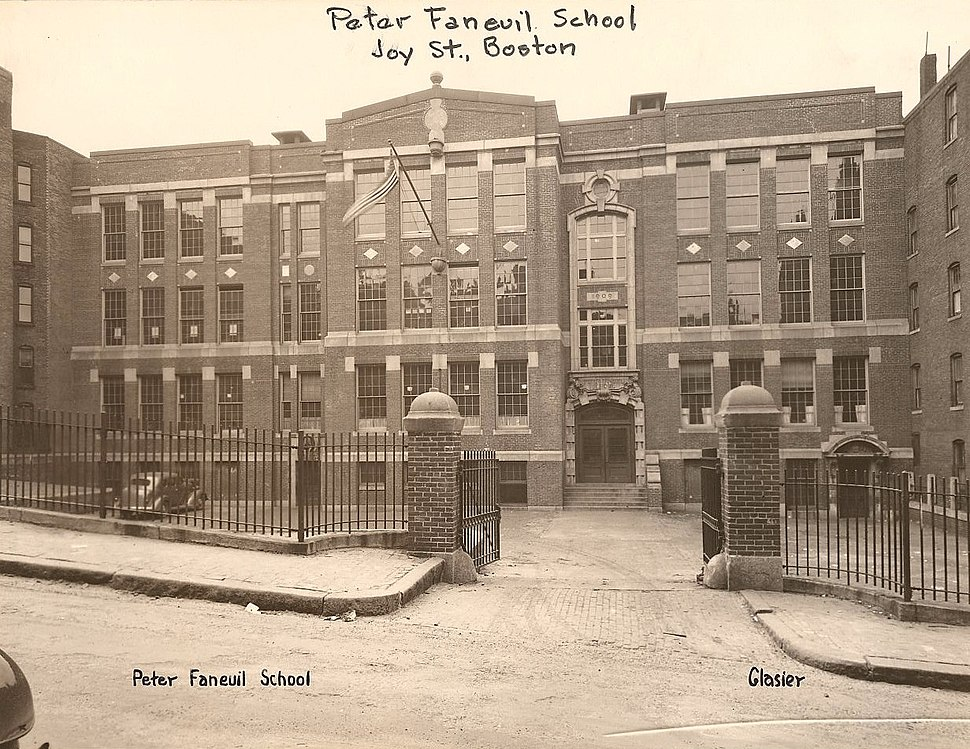 Peter Faneuil School - 403002059 - City of Boston Archives