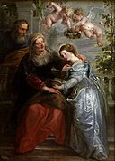 Peter Paul Rubens - The education of Maria.jpg