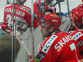 Petr Kadlec Czech ice hockey player
