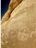 Petroglyphs in Bryce Canyon