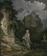Philippe-Jacques de Loutherbourg - A Philosopher in a Moonlit Churchyard.jpg