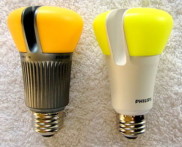 LED bulbs made by Philips. Philips LED bulbs.jpg
