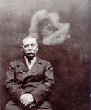 Photo of Sir Arthur Conan Doyle with Spirit, by Ada Deane