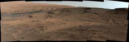 Pia18608-Curiosity Mars Rover's Approach to 'Pahrump Hills'