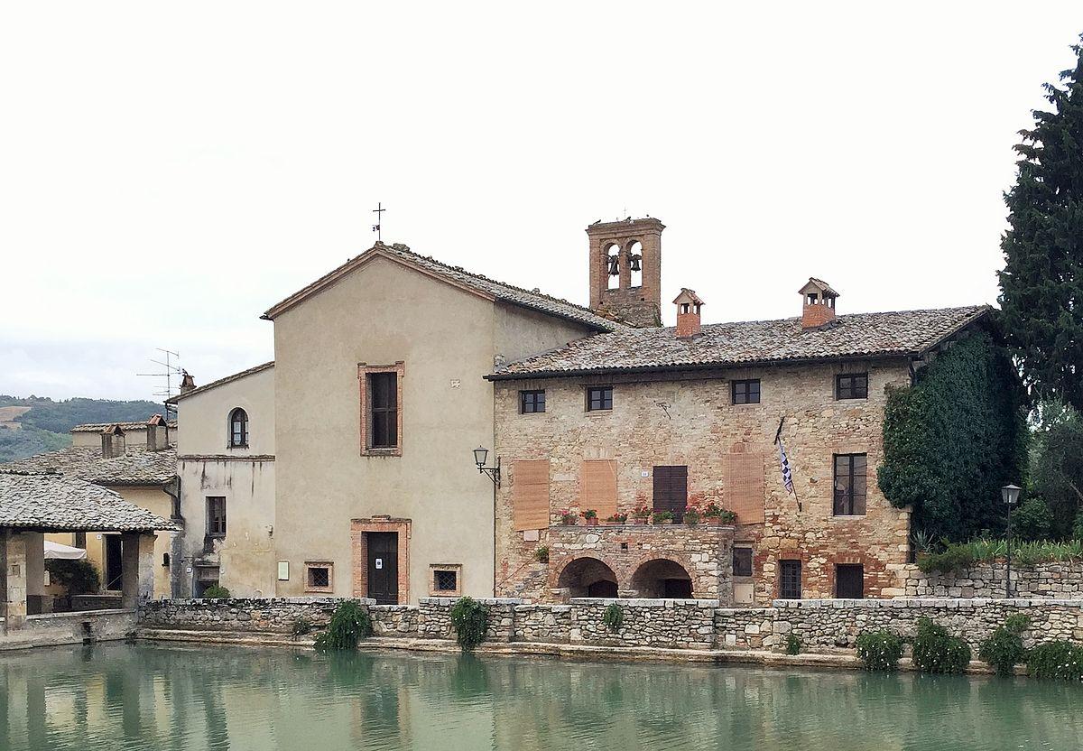 Chiesa di san giovanni battista a bagno vignoni wikipedia - Bagno a vignoni ...
