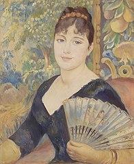 Woman with Fan (Femme à l'éventail)
