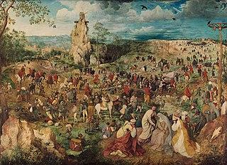 <i>The Procession to Calvary</i> (Bruegel) 1564 painting by Pieter Bruegel the Elder